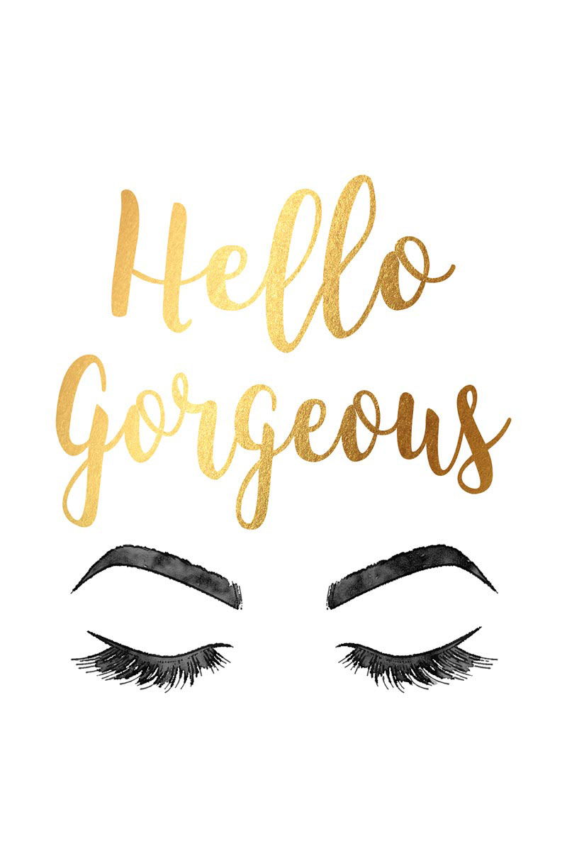 Hello Gorgeous Gold by Amanda Greenwood