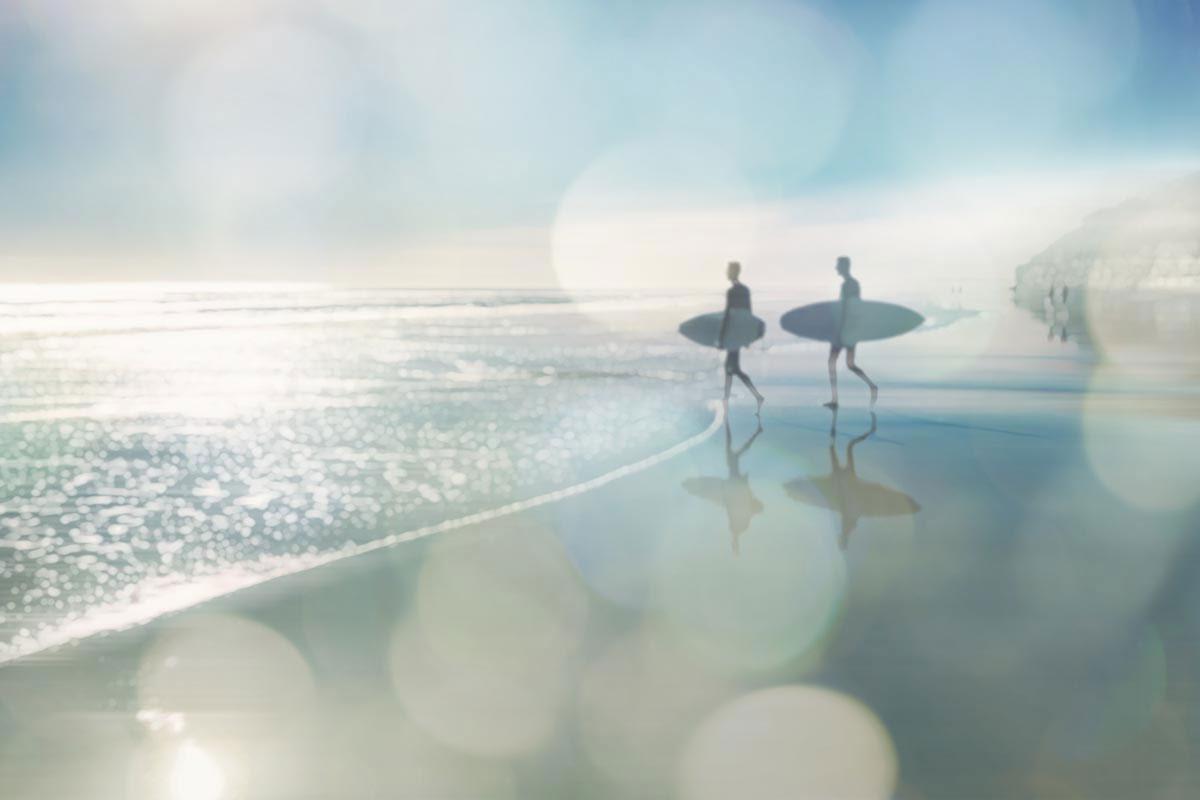 Surfers by Devon Davis