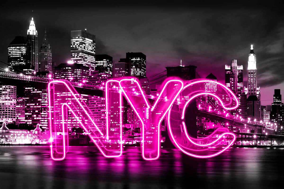 Neon New York City PB by Hailey Carr