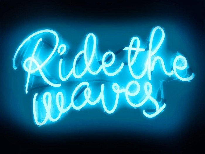 Neon Ride The Waves AB by Hailey Carr