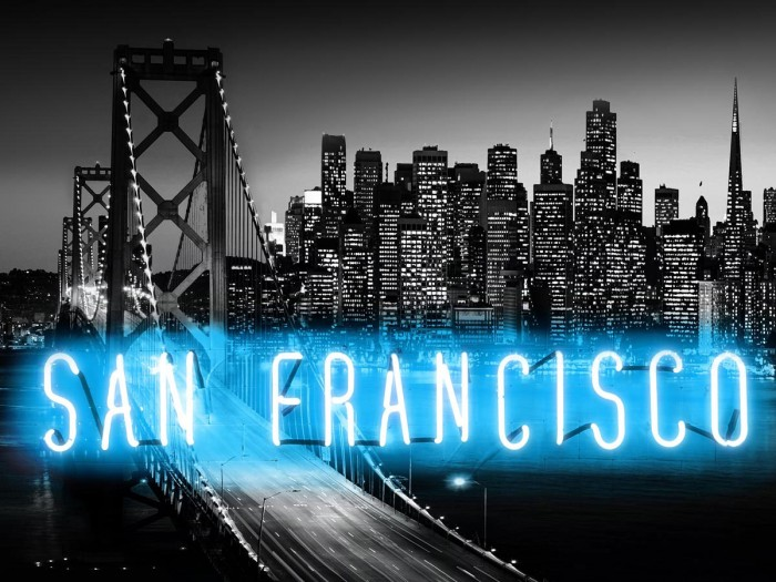 Neon San Francisco AB by Hailey Carr