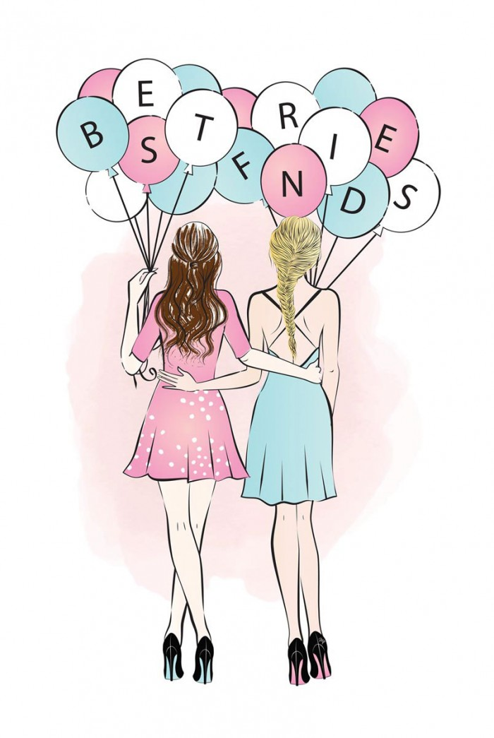 Best Friends by Martina Pavlova