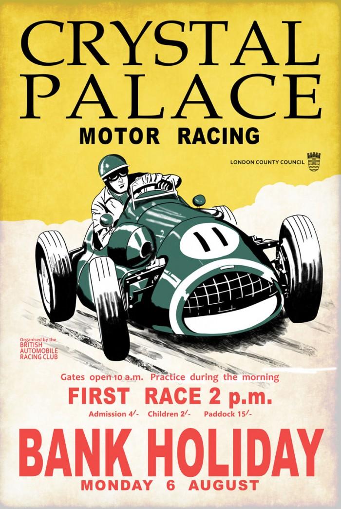 Crystal Palace Racing II by Mark Rogan